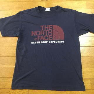 ザノースフェイス(THE NORTH FACE)のMサイズ ネイビー(Tシャツ/カットソー(半袖/袖なし))