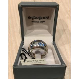 YSL イヴサンローラン シルバーリング  925 ヴィンテージ(リング(指輪))
