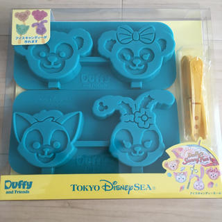 Disney - 『未使用』ディズニーシー限定☆ダッフィーのサニーファン☆アイスキャンデーモールド