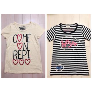 repipi armario - レピピアルマリオ Tシャツ2枚セット