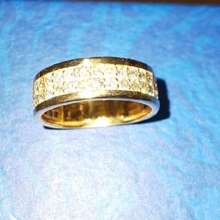 1カラット18金リング(リング(指輪))