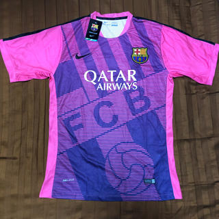 NIKE - 【限定品】*激レア* バルセロナ トレーニングシャツ 新品タグ付き ナイキ