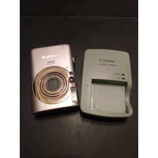 Canon - デジカメ CANON IXY DEGITAL 110 IS ☆ シルバー