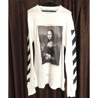 OFF-WHITE - off-white モナリザ ロングTシャツ M