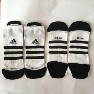 adidas - adidas スポーツ ソックス 2ペア