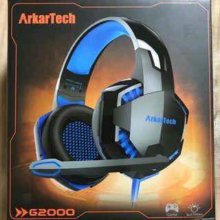 ARKARTECHG2000 ゲーミングヘッドセット(ヘッドフォン/イヤフォン)