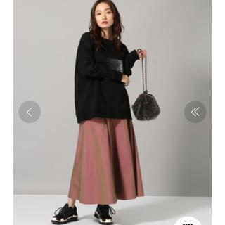 JEANASIS - 軽井沢購入◯。ジーナシスJEANASIS ハイウエストクラシックロングスカート