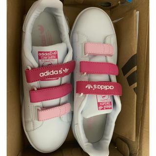 adidas - アディダス スタンスミス ピンク 可愛い 24.5cm スニーカー
