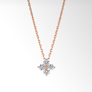 STAR JEWELRY - 【STAR JEWELRY】 	ダイヤモンドネックレス(S)