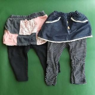 ニシマツヤ(西松屋)の女の子 パンツ スカッツ 80cm(パンツ)