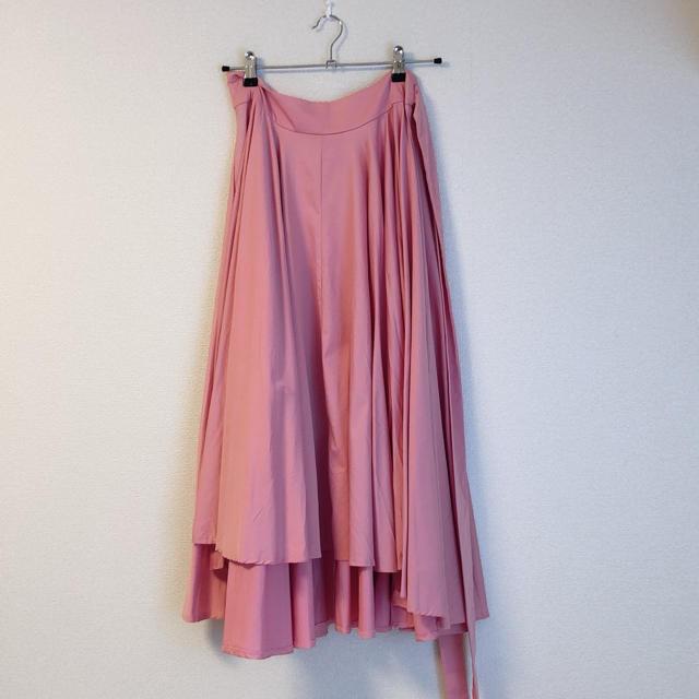 Chesty(チェスティ)のbirthdaybash ピンク ボリュームスカート レディースのスカート(ひざ丈スカート)の商品写真