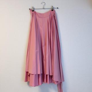 チェスティ(Chesty)のbirthdaybash ピンク ボリュームスカート(ひざ丈スカート)
