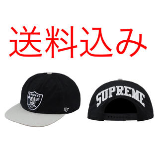シュプリーム(Supreme)のSUPREME 19SS NFL 47 Raiders 5 Panel Cap(キャップ)