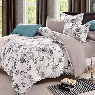 ベッド用 掛け布団カバー ボックス (ダブル) 寝具カバー 4点セット