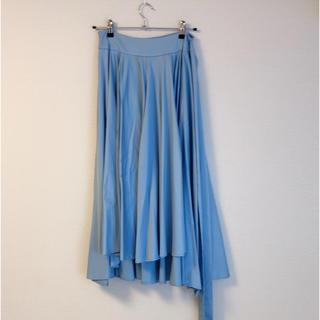チェスティ(Chesty)のbirthdaybash ブルー ボリュームスカート(ひざ丈スカート)