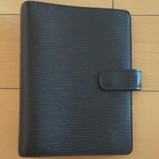 ルイヴィトン(LOUIS VUITTON)のヴィトン 手帳カバー エピ 黒(手帳)