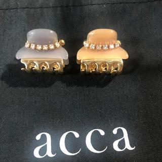 アッカ(acca)のアッカacca ミニクリップ(バレッタ/ヘアクリップ)