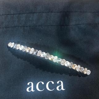 アッカ(acca)の未使用アッカaccaベリーバレッタ(バレッタ/ヘアクリップ)