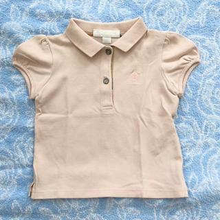 バーバリー(BURBERRY)のバーバリー ポロシャツ 12m 70 80 女の子 ベビー ラルフローレン(シャツ/カットソー)