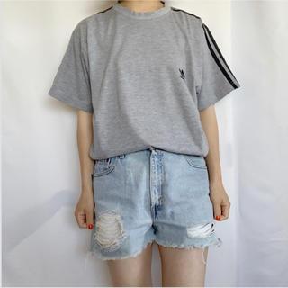 アディダス(adidas)のadidas 90s ロゴ刺繍TEE(Tシャツ/カットソー(半袖/袖なし))