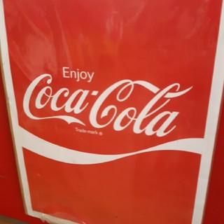 コカコーラ(コカ・コーラ)のコカ・コーラ ポスター 赤(ノベルティグッズ)