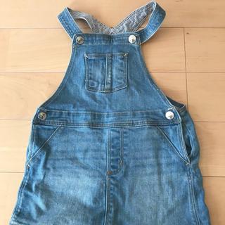 エイチアンドエム(H&M)のH&M ジャンパースカート デニム 90センチ(ワンピース)