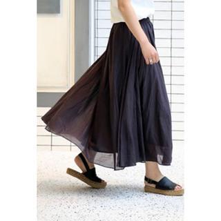 IENA - IENA インド綿ギャザースカート