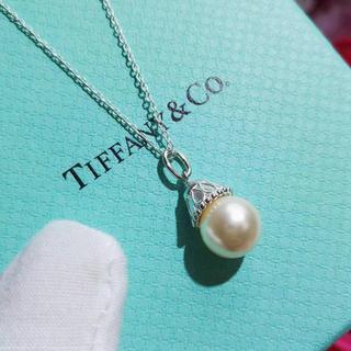 Tiffany & Co. - tiffany美品 ティファニー パールネックレス