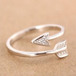 アローリング 指輪 フリーサイズ ノーブランド(リング(指輪))