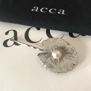 アッカ(acca)のacca 19春夏 ACQUA DI FIORE ヘアピン 未使用品(ヘアピン)
