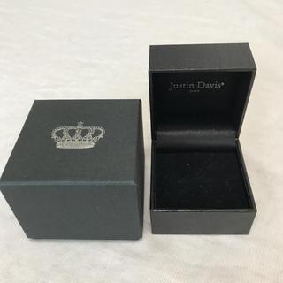 ジャスティンデイビス(Justin Davis)のジャスティンディビス☆リングケース箱(ショップ袋)