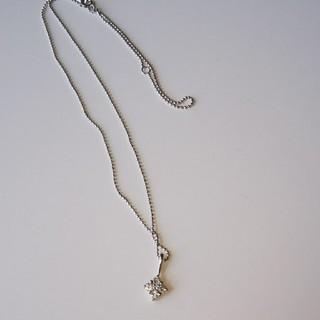 ソニアリキエル(SONIA RYKIEL)のプラチナダイヤモンドネックレス(ネックレス)