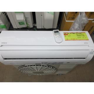 ヒタチ(日立)のK686 日立 中古エアコン 主に10畳用 冷2.8kw/暖3.6kw(エアコン)
