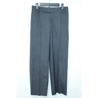【美品/送料無料】ジーヴィージーヴィー スラックス パンツ 毛100% XS