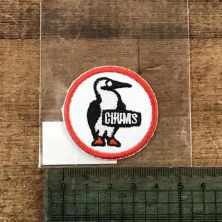 CHUMS - [新品]CHUMS ブービーが可愛い丸型ワッペン 4㎝ Sサイズ