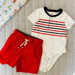 ギャップ(GAP)のベビー❤︎GAP tシャツパンツセット(Tシャツ)