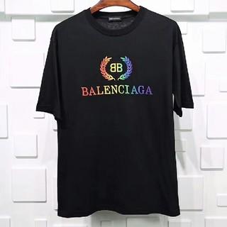 Balenciaga - BALENCTAGATシャツ アンダーベア ロゴ ブラックM