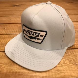 ヴァンズ(VANS)のVANS ヴァンズ バンズ スクエアロゴ スナップバックキャップ ブルー 水色(キャップ)