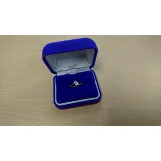 Pt900ダイヤモンド デザインリング 0.54ct 6.2g(リング(指輪))