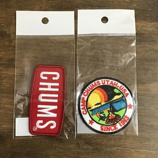 CHUMS - 【新品】CHUMS キャンプブービーワッペン 6cm