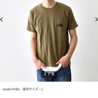ロデオクラウンズワイドボウル(RODEO CROWNS WIDE BOWL)のロデオクラウンズ Tシャツ メンズ用カーキL(Tシャツ/カットソー(半袖/袖なし))