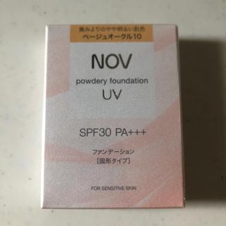 ノブ(NOV)のノブ ファンデーション ベージュオークル10(ファンデーション)