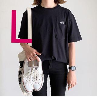 ザノースフェイス(THE NORTH FACE)のノースフェイス  シンプルロゴポケットtシャツ  ブラック(Tシャツ/カットソー(半袖/袖なし))