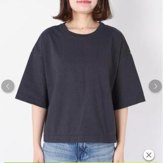シップスフォーウィメン(SHIPS for women)のmakihide様専用!SHIPS BIG TEE ブラック(Tシャツ(半袖/袖なし))