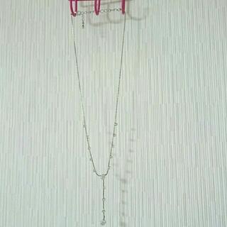 シルバーストーンネックレス(ネックレス)