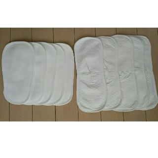 オーガニック 新生児 布おむつ 10枚セット (布おむつ)