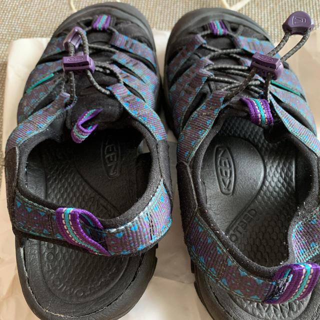 KEEN(キーン)のKEEN キーン サンダル 紫 メンズの靴/シューズ(サンダル)の商品写真