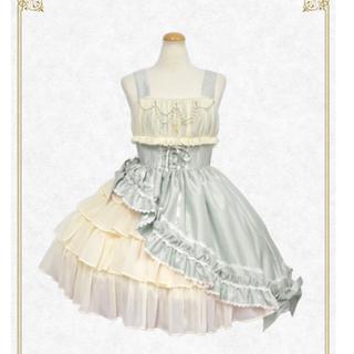 BABY,THE STARS SHINE BRIGHT - ギャザーシフォンジャンパースカート