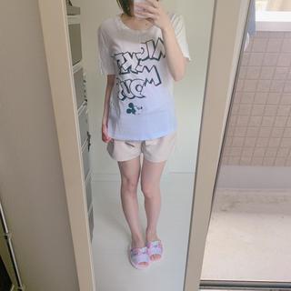 ジーユー(GU)の最終値下げ 30日まで ジーユー ディズニーTシャツ(Tシャツ(半袖/袖なし))