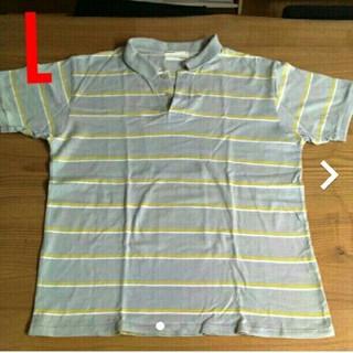 メンズ ポロシャツ L(ポロシャツ)